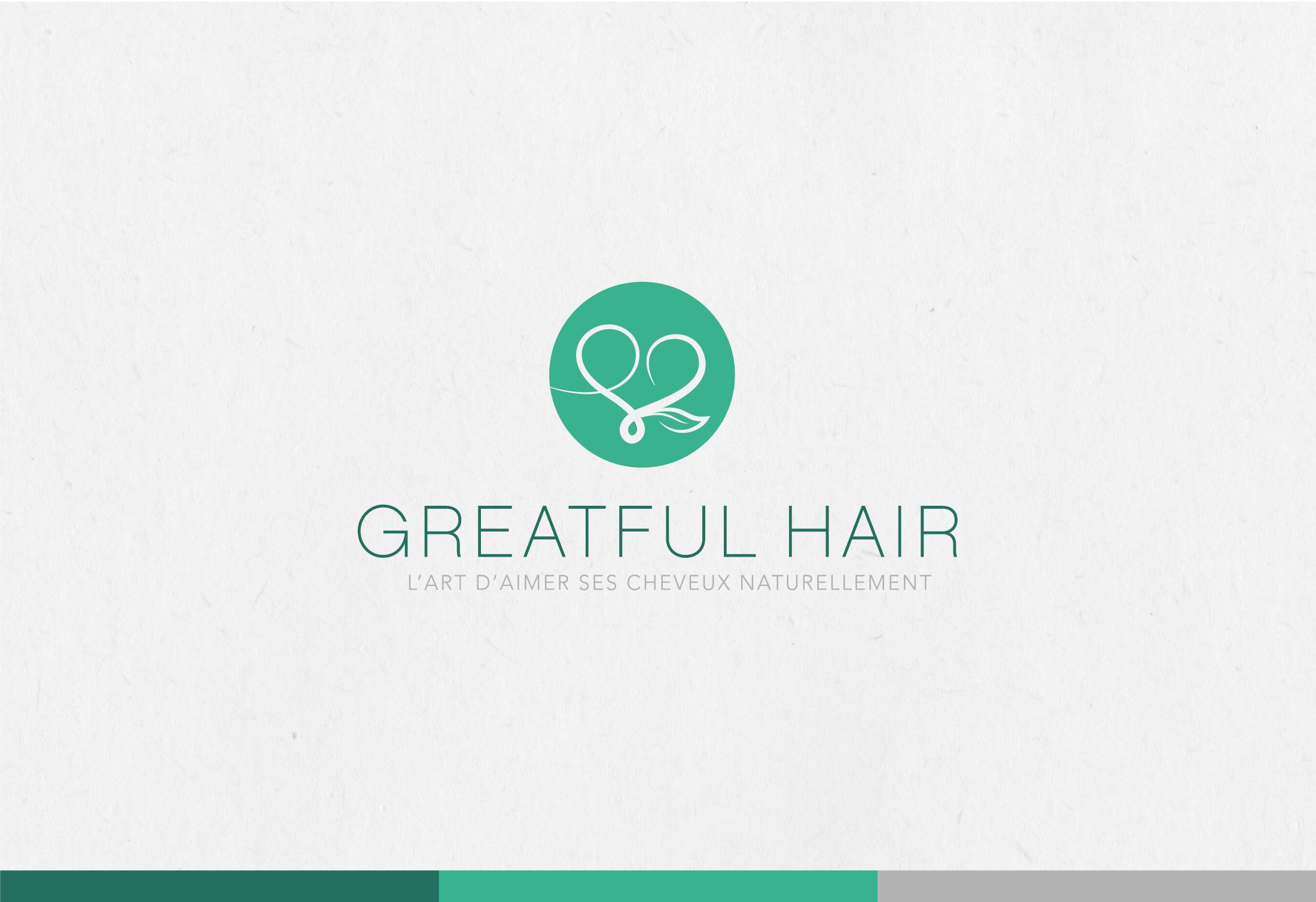 Logo Greatful Hair