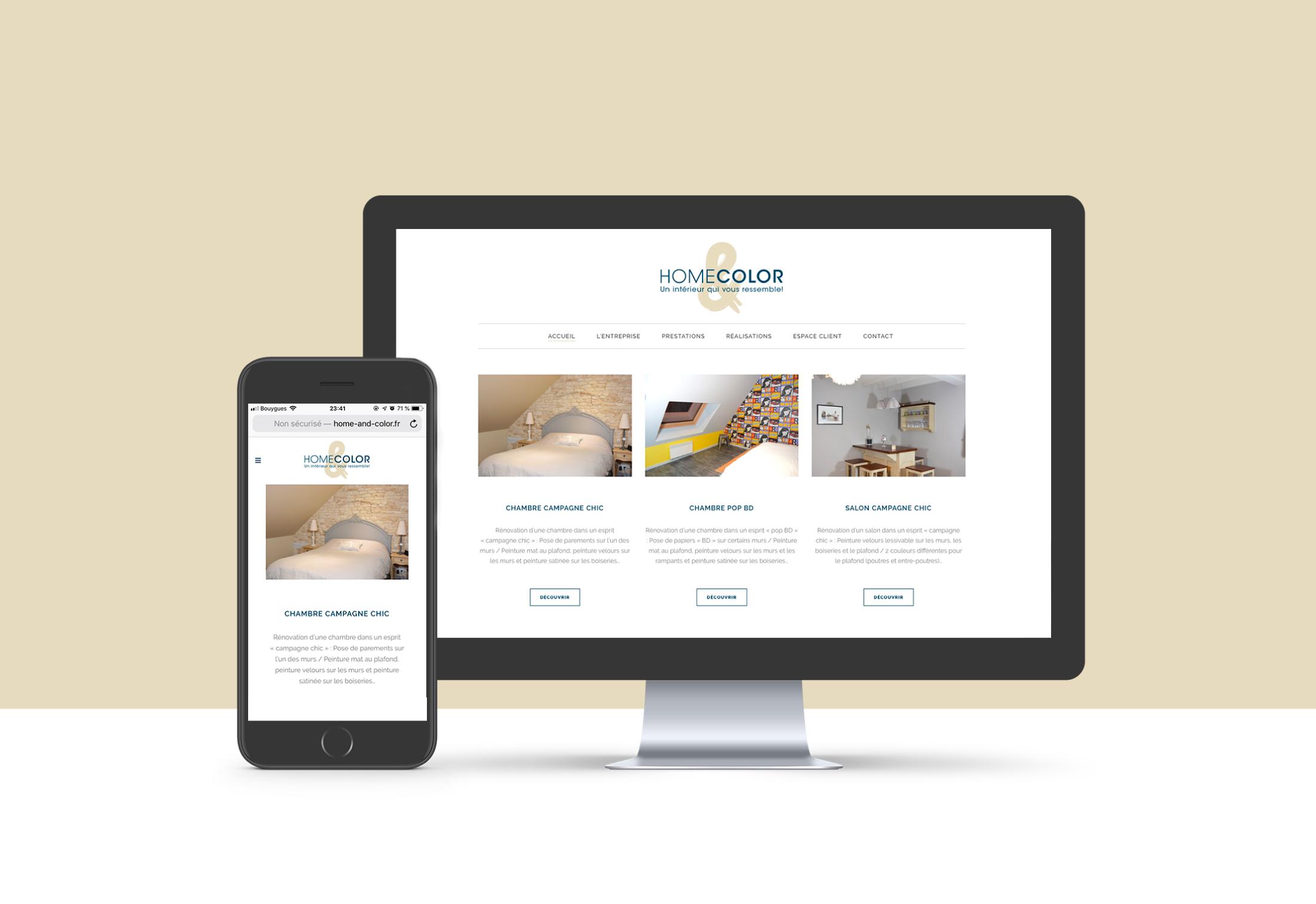 Web design Home&Color